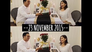 THIRD ANNIVERSARY WITH BOYF || Bahasa Indonesia || Ashfira Selina