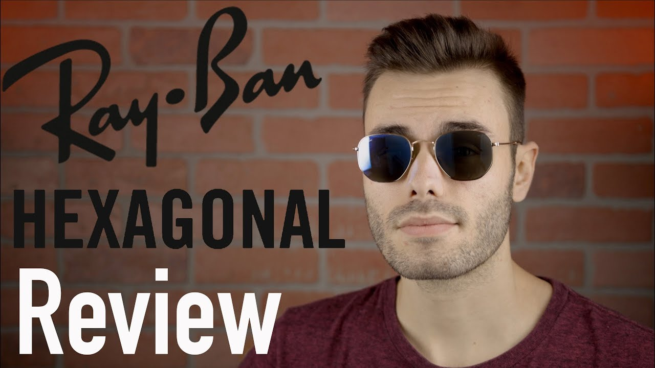 d2f7c76a34e Ray-Ban Hexagonal Flat Lens Review - YouTube