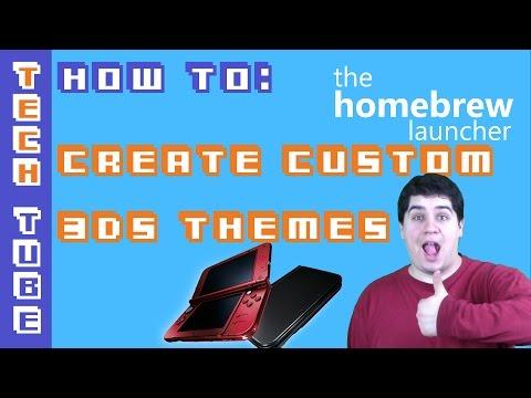 How to Create Custom 3DS Themes with Usagi