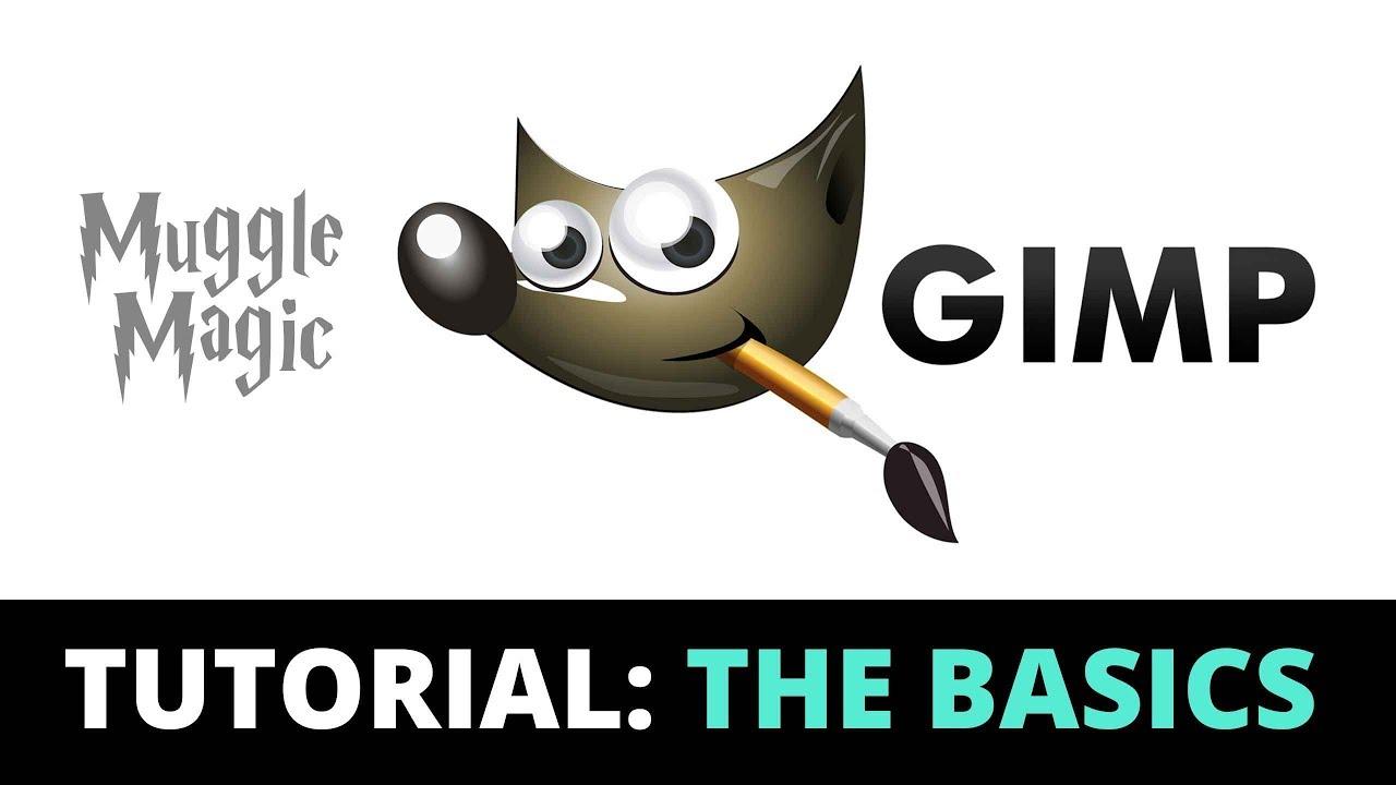 GIMP Beginner Tutorial PLUS Custom Potion Label Template