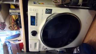 samsung washing machine spin on nearly 1000 machine