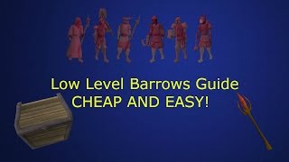 OSRS - Low Level Barrows Guide!