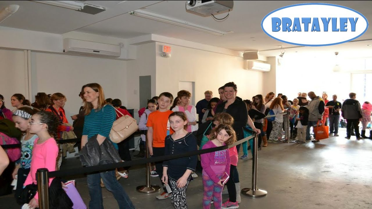 New york city meet and greet wk 1684 bratayley youtube m4hsunfo