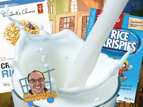 Kellogg's Rice Krispies vs President's Choice Crispy Rice Cereal