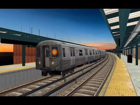 OpenBVE HD EXCLUSIVE: New York City Subway Westinghouse 1447J DC Traction Motor Sound Pack Release