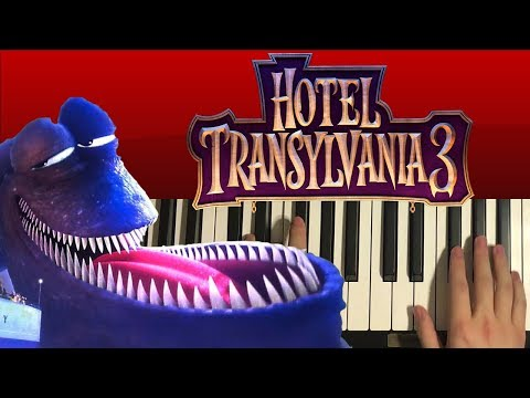 How To Play - Kraken Theme - Hotel Transylvania 3 (PIANO TUTORIAL LESSON)