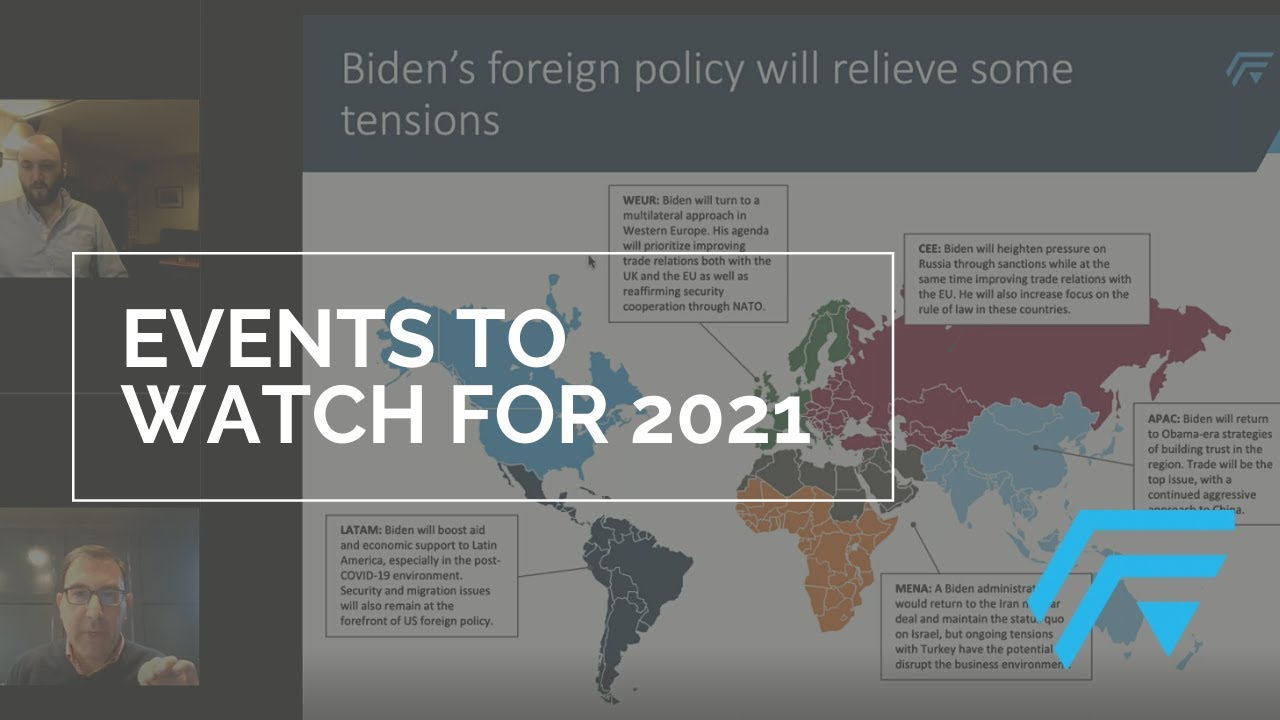 Events to Watch for 2021 | Webinar