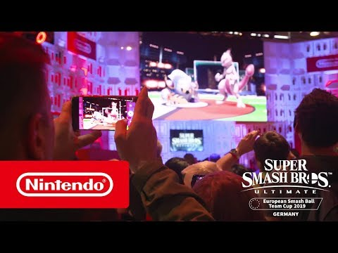 Super Smash Bros. Ultimate European Smash Ball Team Cup 2019 Germany - Teaser Trailer thumbnail