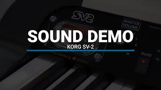 Korg SV-2 Stage Piano Sound Demo