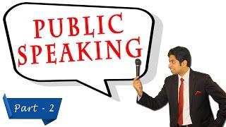 Public Speaking Training - 2