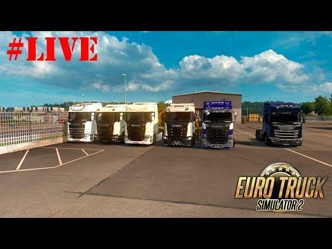 🔴 Live Euro Truck Simulator 2 -  MULTIPLAYER 🔴#500 - SCANDINAVIA