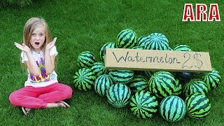 Ulya وفيديو حول المهنة والبطيخ!