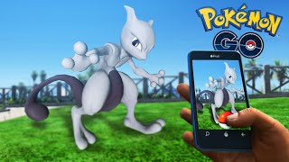Pokemon GO Mod - CATCHING MEWTWO AND OTHER LEGENDARY POKEMON!! (GTA 5 Mods)