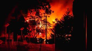Fully involved fire / Incendie majeur sur la rue Marin - Montréal / 04-08-19