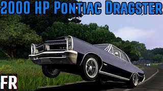2000 HP Pontiac Dragster - Test Drive Unlimited Platinum
