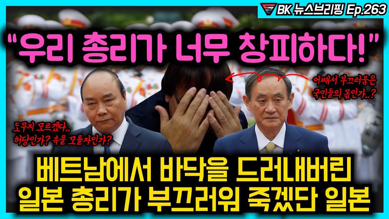 """""""우리 총리가 너무 창피하다."""" 베트남에서 바닥을 드러내버린 일본 총리가 부끄러워 죽겠단 일본"""
