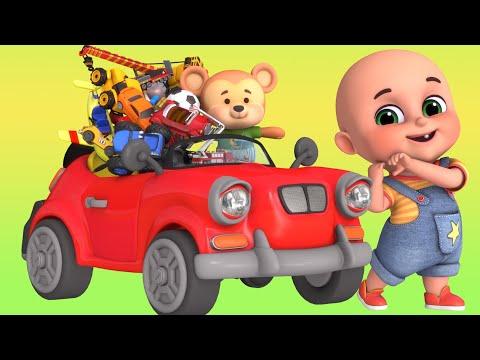 Kids Toys - Construction Truck Toys for Kids - Pickup Crane - Unboxing Surprise Toys from Jugnu Kids
