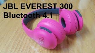JBL Everest 300 PINK headphones Unboxing (4K)