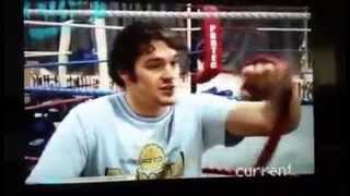 18 year old Tyson Fury - 1st coach Steve Egan predicts his future