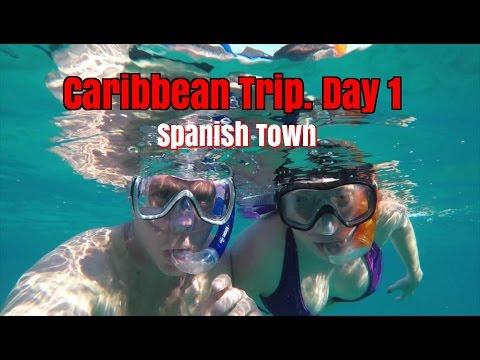 Caribbean Sailing Trip Day 1c.  Spanish Town, BVI.  Ep51