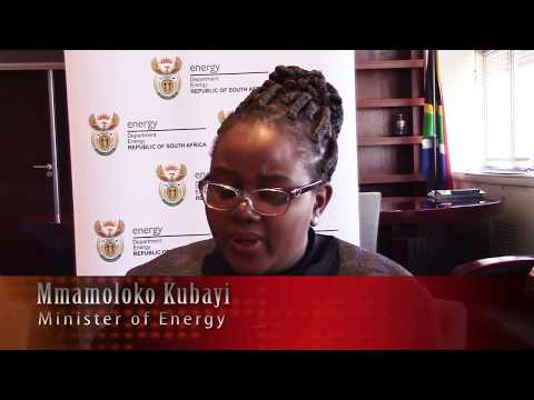 South Africa Minister of Energy on renewable energy's status and future
