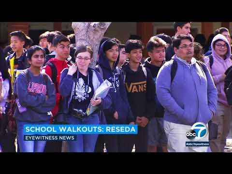 Students begin school walkouts on Columbine anniversary I ABC7