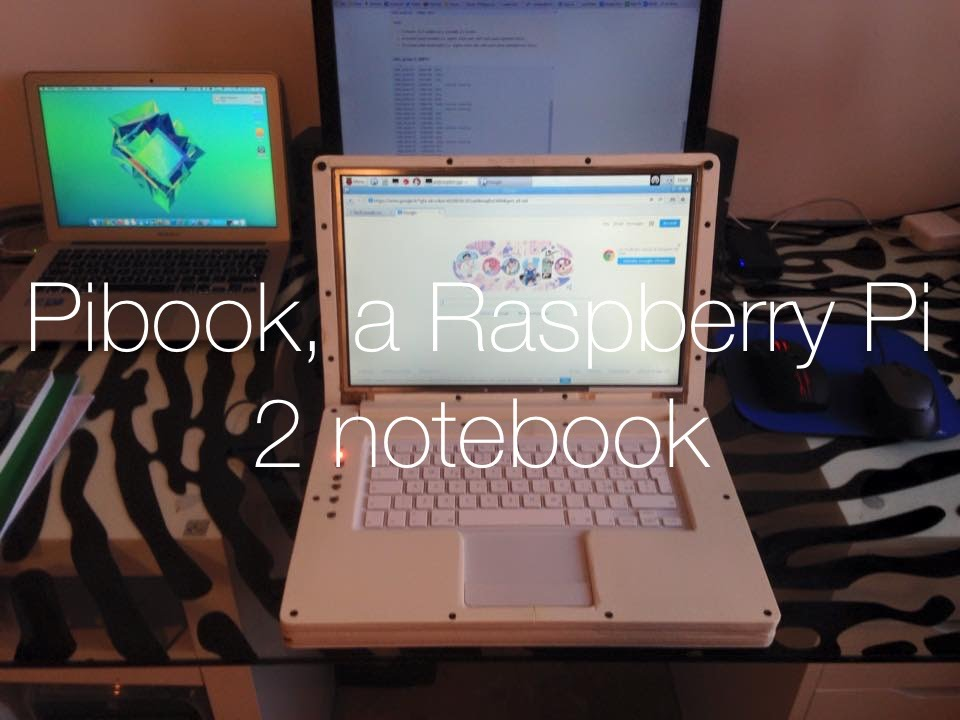 Building The Pibook A Raspberry Pi Notebook Youtube