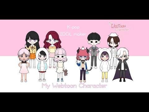 My Webtoon Character - K-pop IDOL avatar maker 1 1 18 Apk