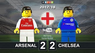 Download Video Arsenal vs Chelsea 2-2 • 03/01/2018 • All Goals Highlights Lego 2017/18 MP3 3GP MP4