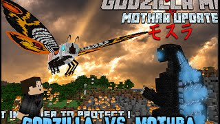 Minecraft Mob Battle: Godzilla vs. Mothra