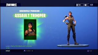 IT WAS GOING SO WELL UNTIL THIS HAPPENED...   Assault Trooper Skin   Fortnite Battle Royale Gameplay