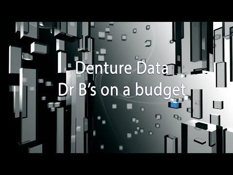 Denture Data  Dr B's