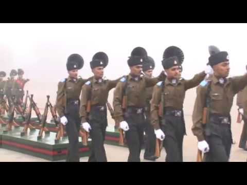 INDIAN ARMY TRAINING DRILL PARADE(2017)