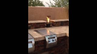 Automation Of Allure Fire Pit - Venturi Flame - Sedona