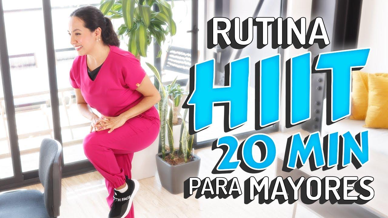 Rutina HIIT de 20 minutos para Mayores | Cardio de Alta Intensidad