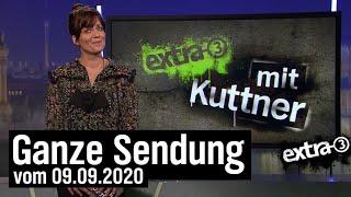 Extra 3 vom 09.09.2020 mit Sarah Kuttner