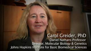 (Extended) Interview with Carol Greider on winning the 2009 Nobel Prize in Physiology or Medicine