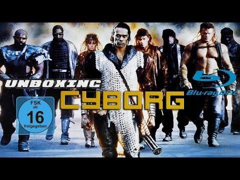Unboxing BluRay SLINGER CYBORG DIRECTOR'S CUT Van Damme Albert Pyun Region All HD 1080P
