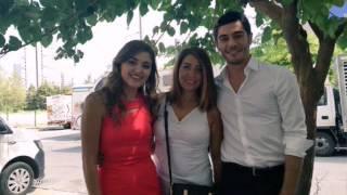 Burak Deniz Hande Erçel'in ailesiyle
