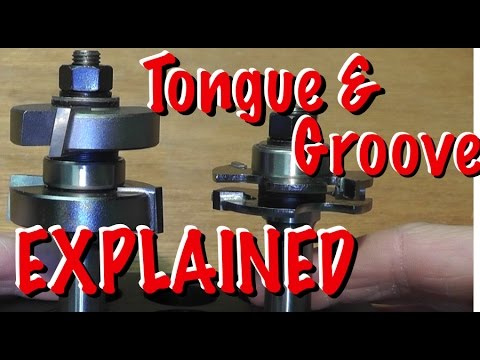 Adjustable Tongue and Groove Router Bit - EXPLAINED