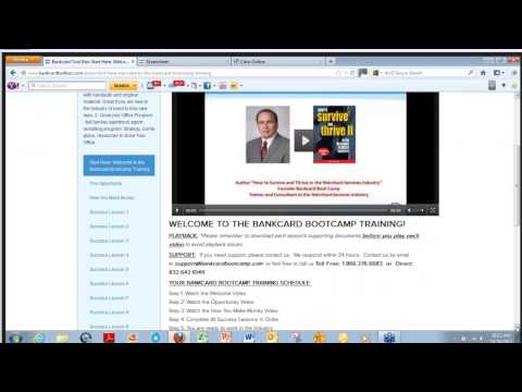 Webinar Bankcard Boot Camp - Interview with Marc Beauchamp