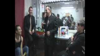antonio sorgentone & his nightclubbers- backstage