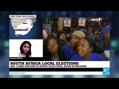 South Africa local elections: ANC concedes defeat in key city of Port Elizabeth