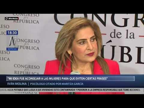 Declara Iván Molina Salas, psicólogo citado por Maritza García [Canal N]