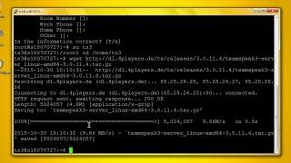 TS3 Server installieren für Anfänger (Debian & Ubuntu)