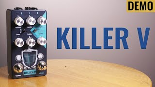Turn Your Amp Into A Magnatone! CTC Killer V Drive and Vibrato - JayLeonardJ