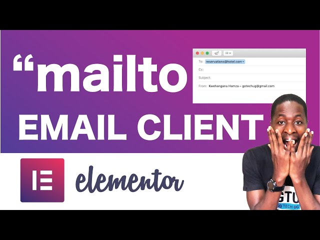 How to Use MAILTO link in Elementor  (Elementor Tips and Trips)