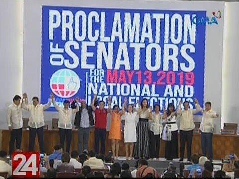 24 Oras: 12 nanalong senador, ipinroklama na siyam na araw matapos ang eleksyon