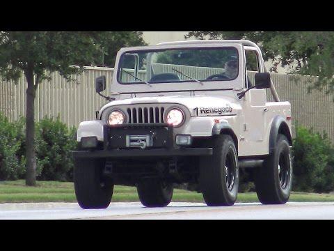1977 Jeep Renegade CJ-7 classic AMC V8 4-wheel-drive - YouTube