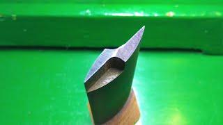 Сверло для сверления треугольных отверстий